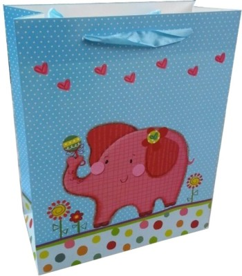 Shop A Party Pink Elephant Printed Party Bag