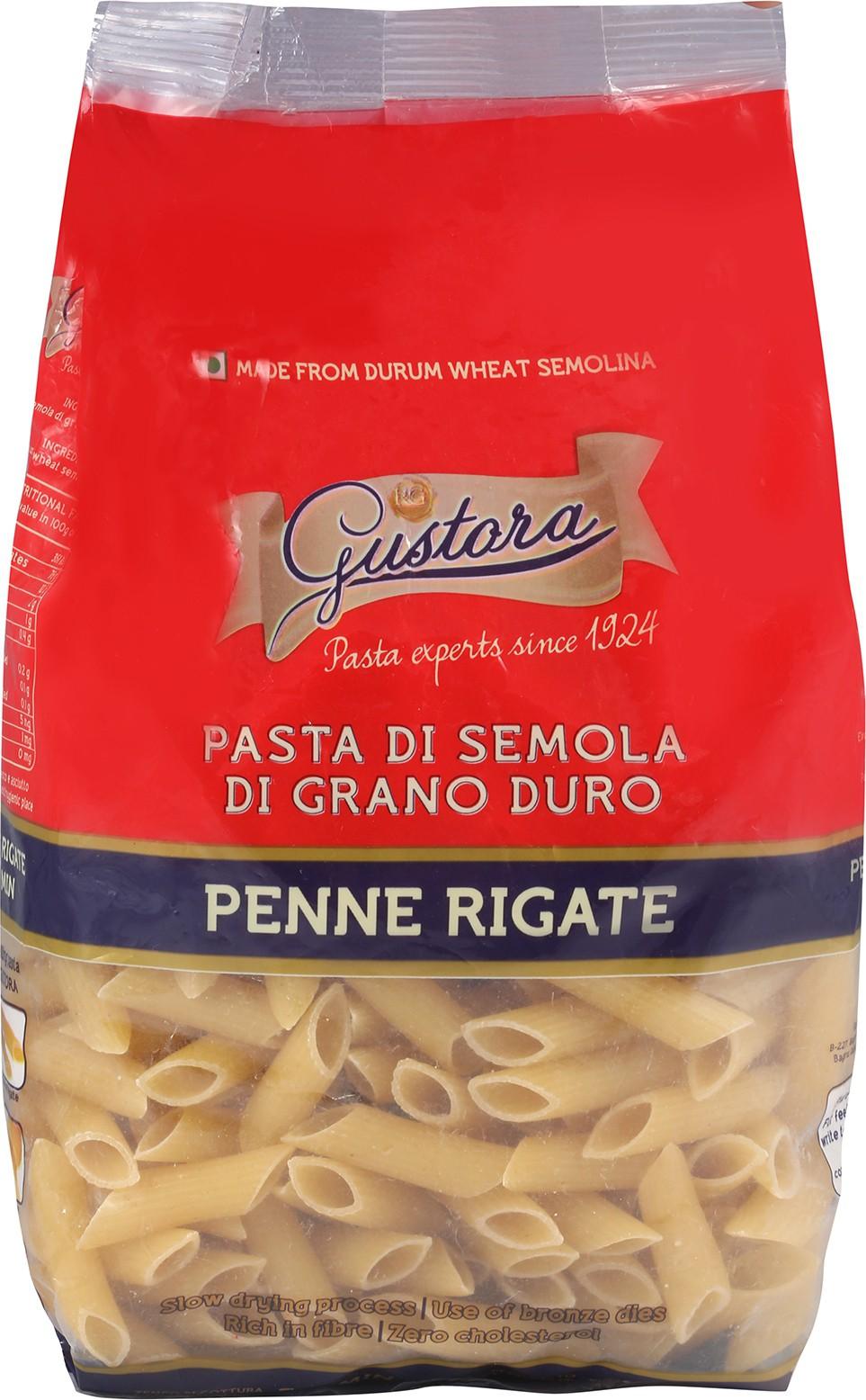 Gustora Penne Rigate Pasta
