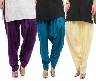 Awesome Cotton Solid Patiala