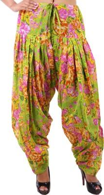 Krishnam Cotton Floral Print Patiala