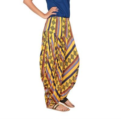 Saffron Threads Viscose Woven Patiala