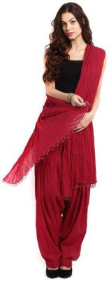 Shiva Collections Cotton Solid Patiala at flipkart