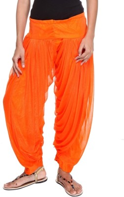 TeeMoods Shimmer Solid Patiala at flipkart