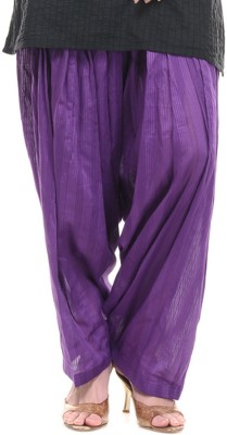 Lifestyle Retail Cotton Striped Patiala