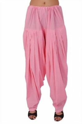pinksisly Cotton Solid Patiala