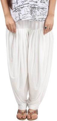 Fashionjackpot Cotton Solid Patiala