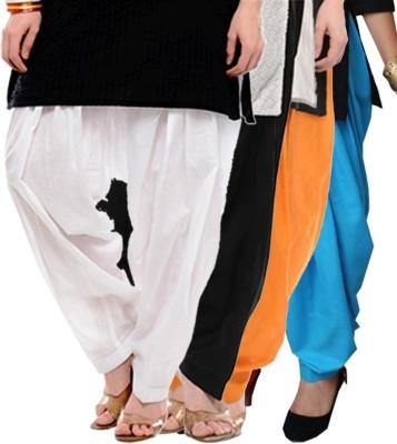 Sanvi Traders Cotton Solid Patiala
