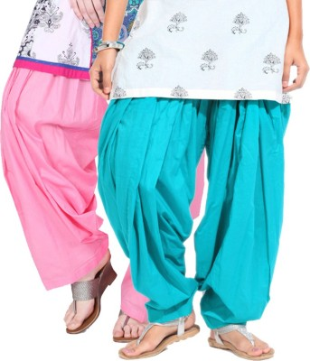 Rakshita's Collection Cotton Solid Patiala