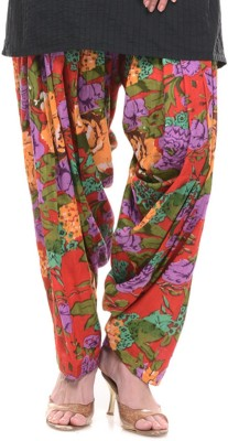 Lifestyle Retail Cotton Floral Print Patiala