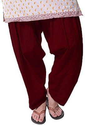 Magrace Cotton Solid Patiala at flipkart
