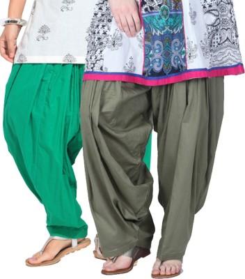 Rakshita's Collection Cotton Solid Patiala