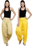 Pistaa Cotton Solid Patiala