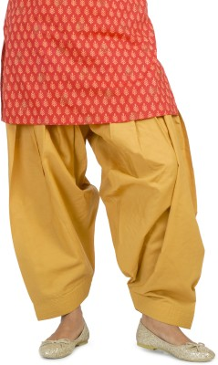 Ethnic Bliss Lifestyles Cotton Solid Patiala