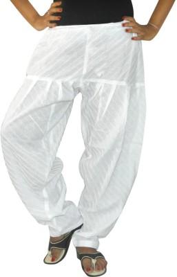 Abstra Cotton Striped Patiala