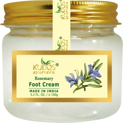 Kudos Ayurveda Foot Cream (Rosemary)