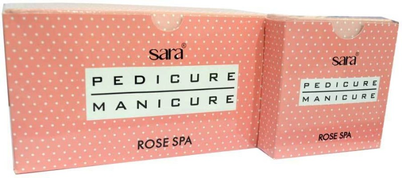 Sara Pedicure Manicure Rose Kit(500 g, Set of 5)