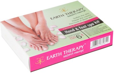 EARTH THERAPY Hand & Foot Spa Kit 6 In 1 Pedicure and