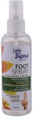 Lady Diana Odor Control Foot Spray(100 ml, Set of 1)