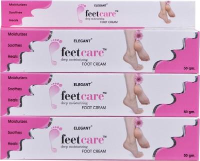 Elegant Feet Care Cream(150 g, Set of 3)