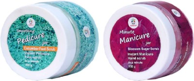 Bloomsberry Smoothing Pedicure and Minute Manicure Jars