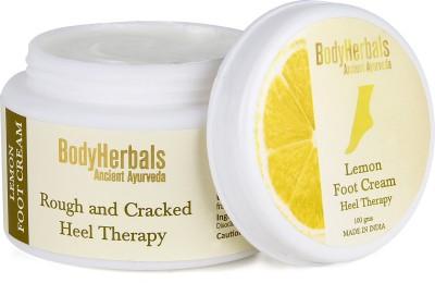 BodyHerbals Lemon Foot Cream, Rough & Cracked Heel Therapy (100g)