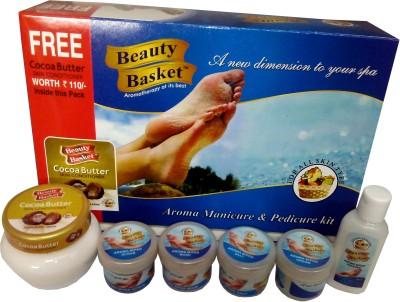Beauty Basket Aroma Manicure & Pedicure Kit