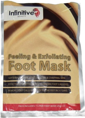 Infinitive Beauty Peeling and Exfoliating Foot Mask
