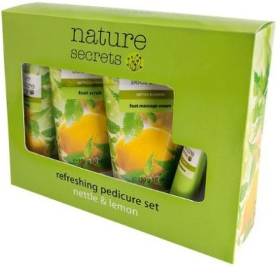 Nature Secrets Pediglow Foot Care Kit