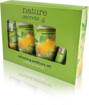 Oriflame Sweden Nature Secrets Refreshing Pedicure Set Nettle & Lemon