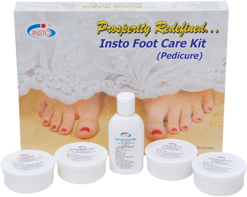 Insto Foot Care Kit (Pedicure)(180 g, Set of 5)