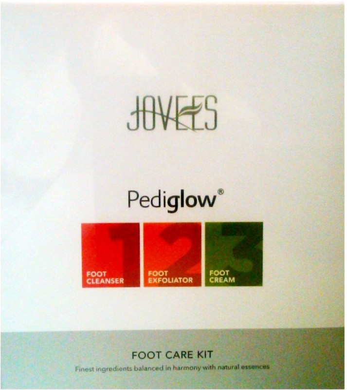 Jovees Pediglow Foot Care Kit(295 g, Set of 3)