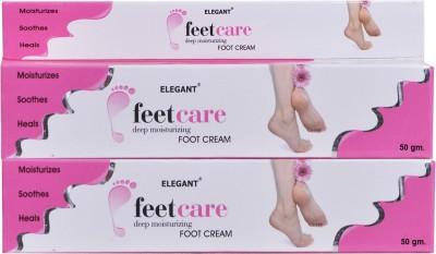 Elegant Feet Care Cream(100 g, Set of 2)