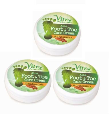 Vitro Naturals Aloe Foot & Toe Care Cream