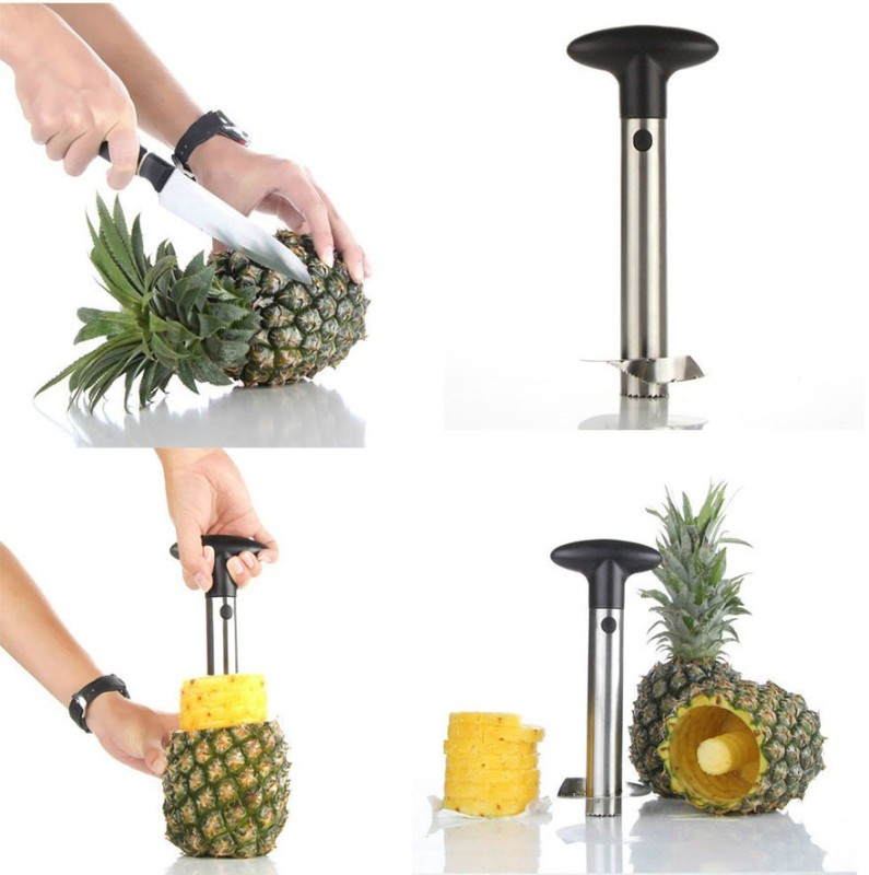 eDeal Stainless Steel Pineapple Grater