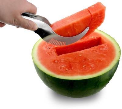 Vmore Angurello Stainless Steel Watermelon Cutter Fruit Dig Corer & Server NA Peeler