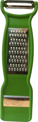 ADMI 3 in 1 vegetable And Fruit Peeler, Grater & Slicer - Green Straight Peeler(Green)