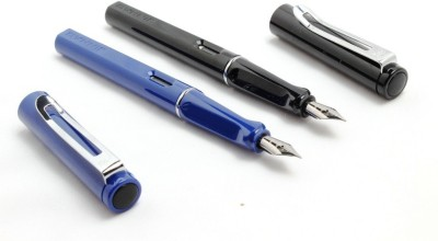 SRPC Jinhao Elegent Blue And Black Safari Fountain Pen