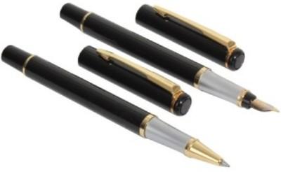 GIFTKART BAOER 801 Royal Touch Roller & Fountain Roller Ball Pen