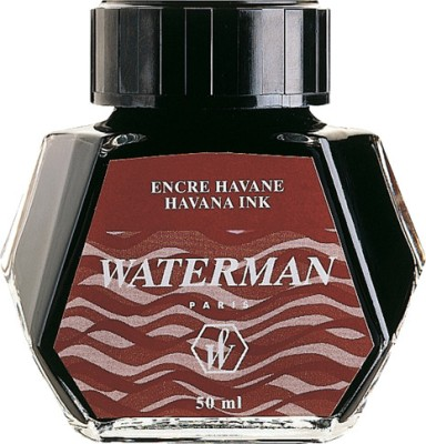 Waterman Ink Bottle - Brown (Havana)