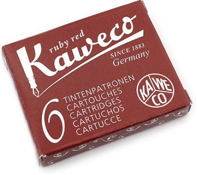 Kaweco Ruby Red Ink Cartridge