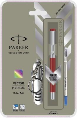 Parker Vector Mettalix CT (Swiss Knife) Roller Ball Pen