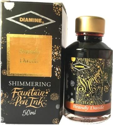 DIAMINE SHIMMER INK 50ML BRANDY DAZZLE Ink Bottle