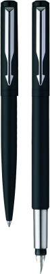 Parker Vector Matte Black CT Pen Gift Set