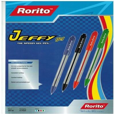 RORITO JEFFY GEL PEN PACK OF 50 PCS Gel Pen