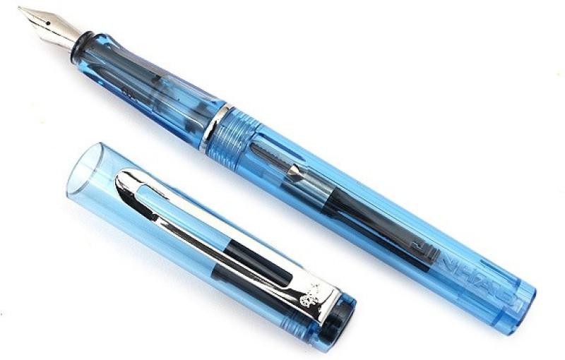SRPC JINHAO ICE SAFARI STYLISH Fountain Pen(Blue)
