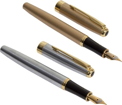 Auteur 388 Gold and Silver Fountain Pen Set Fountain Pen