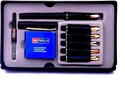 Chrome Pen Set Calligraphy