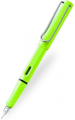 Lamy Neon Lime Fine Nib Fountain Pen
