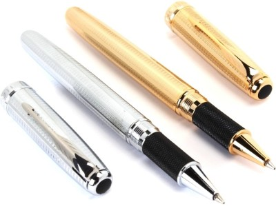 SRPC JINHAO EXECUTIVE SILVER & GOLD MESH MIGHTY Roller Ball Pen
