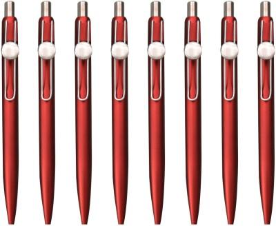 PeepalComm Classic Red Roller Ball Pen